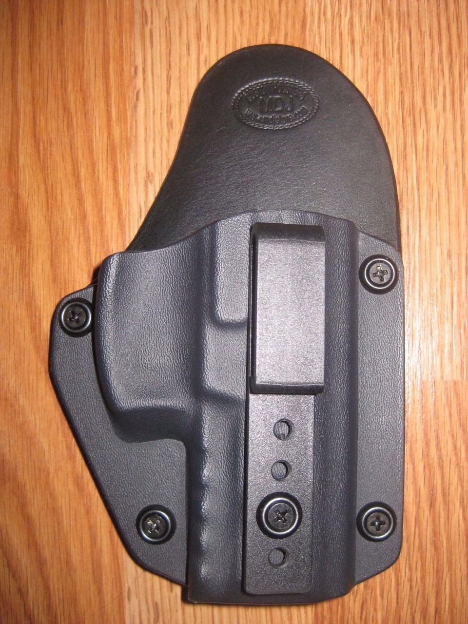 GLOCK IWB Small Printhybrid leather\Kydex Holster (Adjustable retention)