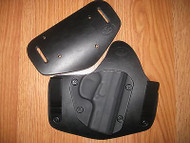 EAA IWB/OWB combo Kydex/Leather Hybrid Holster with adjustable retention