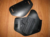 H&K IWB/OWB Kydex/Leather Hybrid Holster with adjustable retention