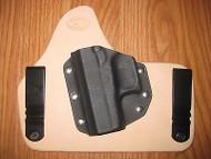 IWB Kydex/Leather Hybrid Holster Diamondback