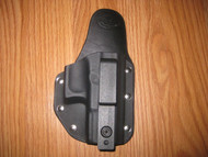 IWB Kydex/Leather Hybrid Holster small print appendix carry
