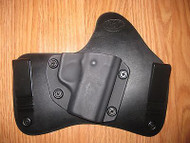 KAHR IWB Kydex/Leather Hybrid Holster with adjustable retention