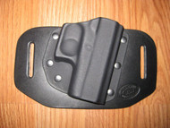 OWB Kydex / Leather Hybrid Holster (outside waist band)