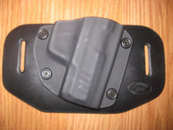 OWB with adjustable retention - Kydex/Leather Hybrid Holster