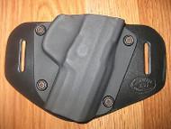 Ruger OWB Kydex/Leather Hybrid Holster with adjustable retention