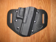 Canik OWB standard hybrid leather\Kydex Holster (Fixed retention)