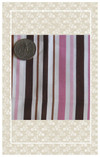 Your dolls will love anything you make from this pretty striped fabric!