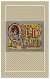 """Edwardian reproduction Old Maid card game sized for 10-11"""", 14-15"""", or 18-20"""" dolls."""