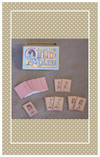 This antique replica set includes sixteen pairs plus one Old Maid card.