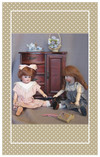 Your dolls will have hours of fun with this antique replica toy!