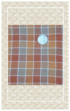 Your dolls will love whatever you sew from this beautiful pumpkin spice plaid!