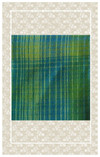Brilliant green doll scaled plaid