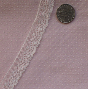 Intricate French Val Lace Edging
