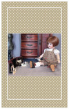 Your dolls will have hours of fun with this antique reproduction farm set!
