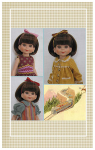 "Patterns sized for 14"" Tonner Betsy McCall dolls."
