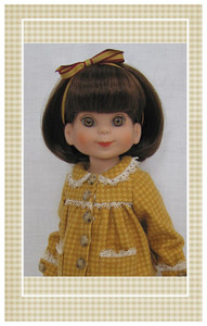 "Pattern sized for 14"" Tonner Betsy McCall dolls"