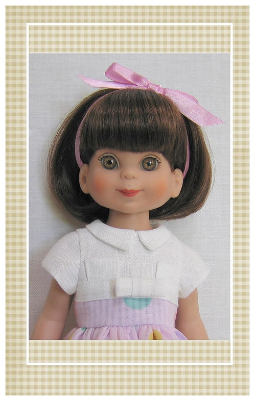 "Pattern sized for 14"" Tonner Betsy McCall dolls."