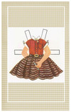 This is the paper doll dress that inspired Betsy's dress.