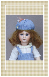 "Pattern sized for 10 5/8"" Bleuette dolls"