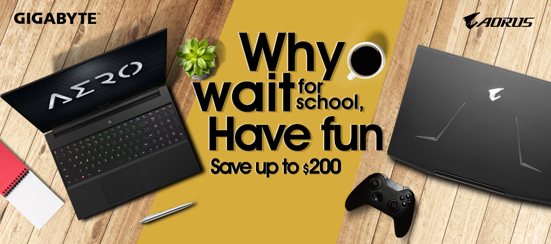 Gigabyte aorus laptop aero  back to school deal on sale