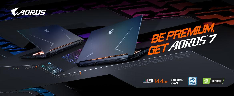 Laptop AORUS7