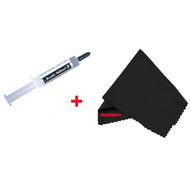 Arctic Silver AS5-12G-MF Silver 5 Thermal Compound and MicroFiber