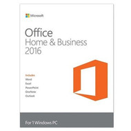 Microsoft T5D-02375 Office 2016 Home Business Windows PC Key Card