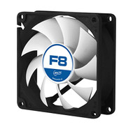 Arctic F8 - Value pack 80mm Standard Low Noise Case Fan Cooling - 5 Pack