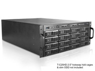 iStarUSA M-4160-ATX 16-Bay Trayless Storage Server Rack Mount Chassis