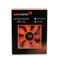 Set of 4 - AAAwave 120mm Double ball bearing Silent Cooling Fan, CPU Cooler, Water-Cooling Radiator and Case