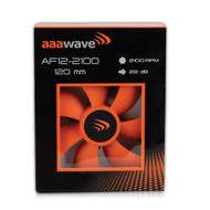 Set of 1 / 4 / 6 / 10 / 12 /14 Pack - AAAwave 120mm Double ball bearing Fan