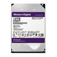 "WD WD101PURZ Purple 10TB Surveillance 7200RPM Class SATA 6 Gb/s 256MB Cache 3.5"" Internal Hard Drive"