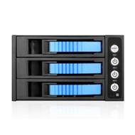iStarUSA BPU-230SATA-BLUE 2x5.25-3x3.5 SATA Trayless Hot-Swap Cage