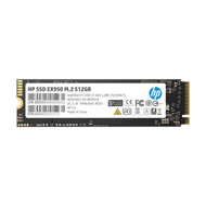 HP 5MS22AA#ABC SSD EX950 512GB M.2 2280 PCIe 3.1 x4 NVMe 3D TLC NAND Internal Solid State Drive