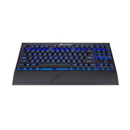 Refurbished - Corsair CH-9145030-NA/RF K63 Wireless Mechanical Gaming Keyboard, Backlit Blue Led, Cherry MX Red - Quiet & Linear