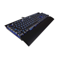 Refurbished - Corsair CH-9101030-NA/RF K70 LUX Mechanical Gaming Keyboard - Backlit Blue LED - USB Passthrough & Media Controls - Linear & Quiet - Cherry MX Red