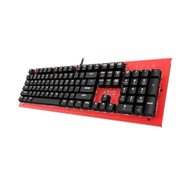 Azio MK-HUE-RD Mk Hue Red USB Backlit Mechanical Keyboard Outemu Brown