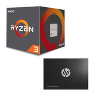 Special bundle-AMD YD1200BBAEBOX Ryzen 3 Processor+HP 2DP99AA#ABC S700 500GB SSD