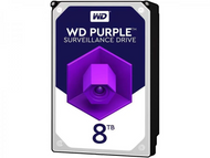 "WD WD82PURZ Purple 8TB 7200RPM SATAIII 3.5"" Surveillance Internal Hard Drive"