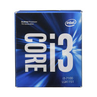 Intel BX80677I37100 Core i3-7100 Kaby Lake Processor 3.9 GHz 8.0GT/s 3MB LGA 1151 CPU Retail