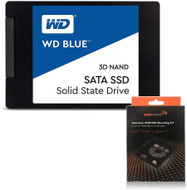"Special bundle - WD Blue WDS500G2B0A 500GB 2.5"" SSD + AAAwave Aluminum HDD/SSD Mounting Kit"
