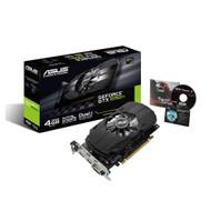 Asus PH-GTX1050TI-4G GeForce GTX 1050 Ti 4GB Phoenix Fan Edition DVI-D HDMI DP 1.4 Gaming GPU Graphics Card (Limited supply, All sales are final)