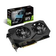 Asus DUAL-RTX2060-O6G-EVO GeForce RTX 2060 Overclocked 6G GDDR6 Dual-Fan EVO Edition VR Ready HDMI DisplayPort DVI Graphics Card