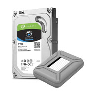 """AAAwave Portable 3.5"""" HDD Storage Case Cover included and compatible with ST2000VX008 2TB Hard Drive"""