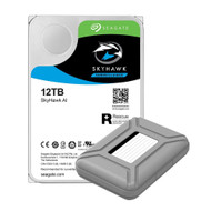 "AAAwave Portable 3.5"" HDD Storage Case Cover included and compatible with ST12000VE0008 12TB Hard Drive"