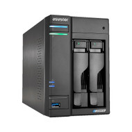 Asustor AS6602T 2Bay NAS Intel Gemini Lake -Refresh Quad-Core 4GB DDR4 SODIMM M.2 Slots Network Attached Storage