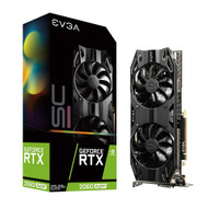 EVGA 08G-P4-3067-KR GeForce RTX 2060 Super SC Ultra Gaming 8GB GDDR6 Dual HDB Fans Metal Backplate Graphics Card