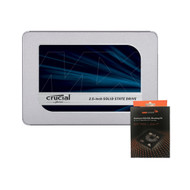 Special bundle - Crucial CT250MX500SSD1 MX500 250GB 3D NAND SATA 2.5 Inch Internal SSD + AAAwave Aluminum HDD/SSD Mounting Kit