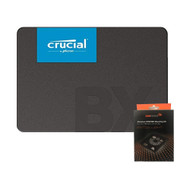 Special bundle - Crucial CT960BX500SSD1 BX500 960GB 3D NAND SATA 2.5-Inch Internal SSD + AAAwave Aluminum HDD/SSD Mounting Kit