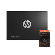 "Special bundle - HP 2DP99AA#ABC SSD S700 2.5"" 500GB SATA III 3D NAND Internal Solid State Drive + AAAwave Aluminum HDD/SSD Mounting Kit"